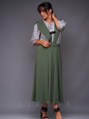 Костюм сарафан++блуза
